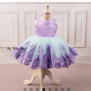 Itty Bitty Toes Princess Demi Dress